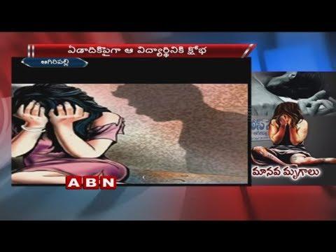 Student abducted by seniors | NRI College in Vijayawada