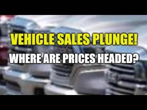 CAR SALES PLUNGE, CREDIT CARD COMPANIES BRING BACK 0% BALANCE TRANSFERS, FED CAUGHT = NO PUNISHMENT