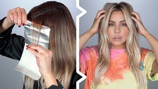 Pro Balayage Tutorial at home  Step by Step How I do My Hair
