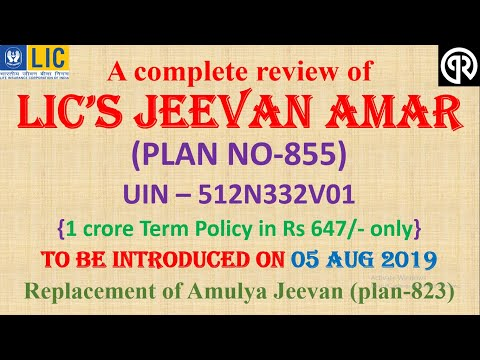 lic's-jeevan-amar-(plan-no-855)-a-complete-review,,-introducing-on-05-aug-2019