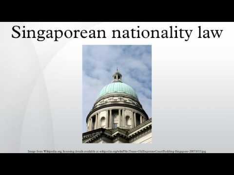 Singaporean nationality law