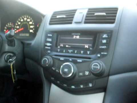 2005 honda accord ex 4dr 3 0 v6 heated leather p roof 77 000 miles youtube. Black Bedroom Furniture Sets. Home Design Ideas