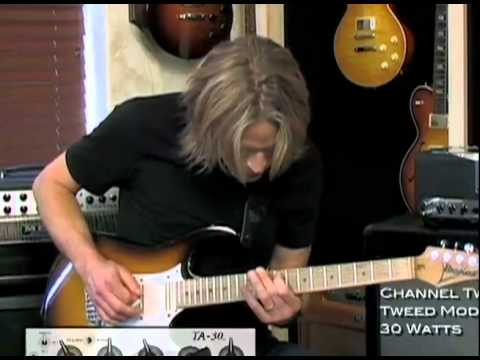 The Guitar Sanctuary: Andy Timmons Mesa Boogie TA-30 Amp Demo