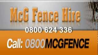 Mcg Temporary Fence Hire, Christchurch New Zealand.