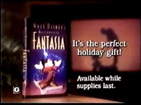 Fantasia - VHS Commercial (1991)