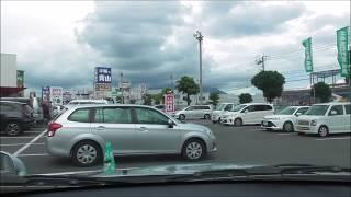 車載動画 イオンモール鹿児島~ハンズマン宇宿店~オプシア宇宿2丁目 風景