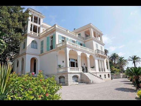 Lieu de shooting: Villa LEO Menton près de Nice