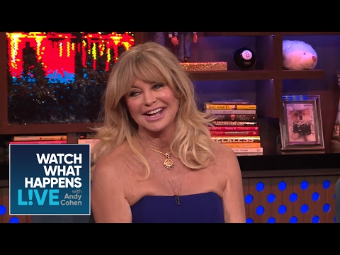 Goldie Hawn Talks About Son Oliver Hudson's Penis  WWHL