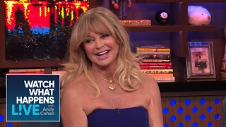 Goldie Hawn Talks About Son Oliver Hudson's Penis | WWHL