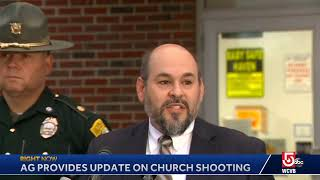 AG provides update on NH church shooting