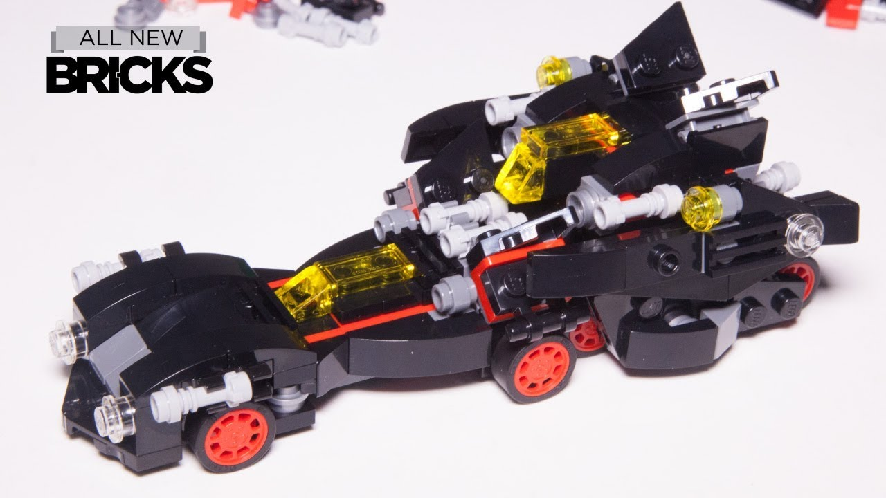 Build A Lego Batmobile