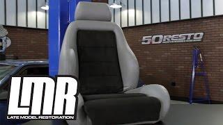 Mustang Upholstery Install: TMI 03-04 Fox Body Cobra Seat Foam & Upholstery