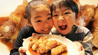 お正月「餅の肉巻き」が美味かったRino&Yuuma