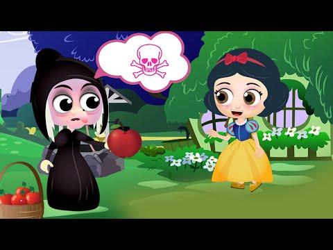 Snow White Full Story In English   Fairy Tales For Children   Bedtime Stories For Kids