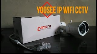 Review & tes Yoosee / 2CU IP Wifi CCTV with Micro SD