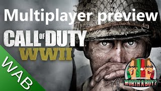 Call of Duty WWII Multiplayer beta Preview - Worthabuy?