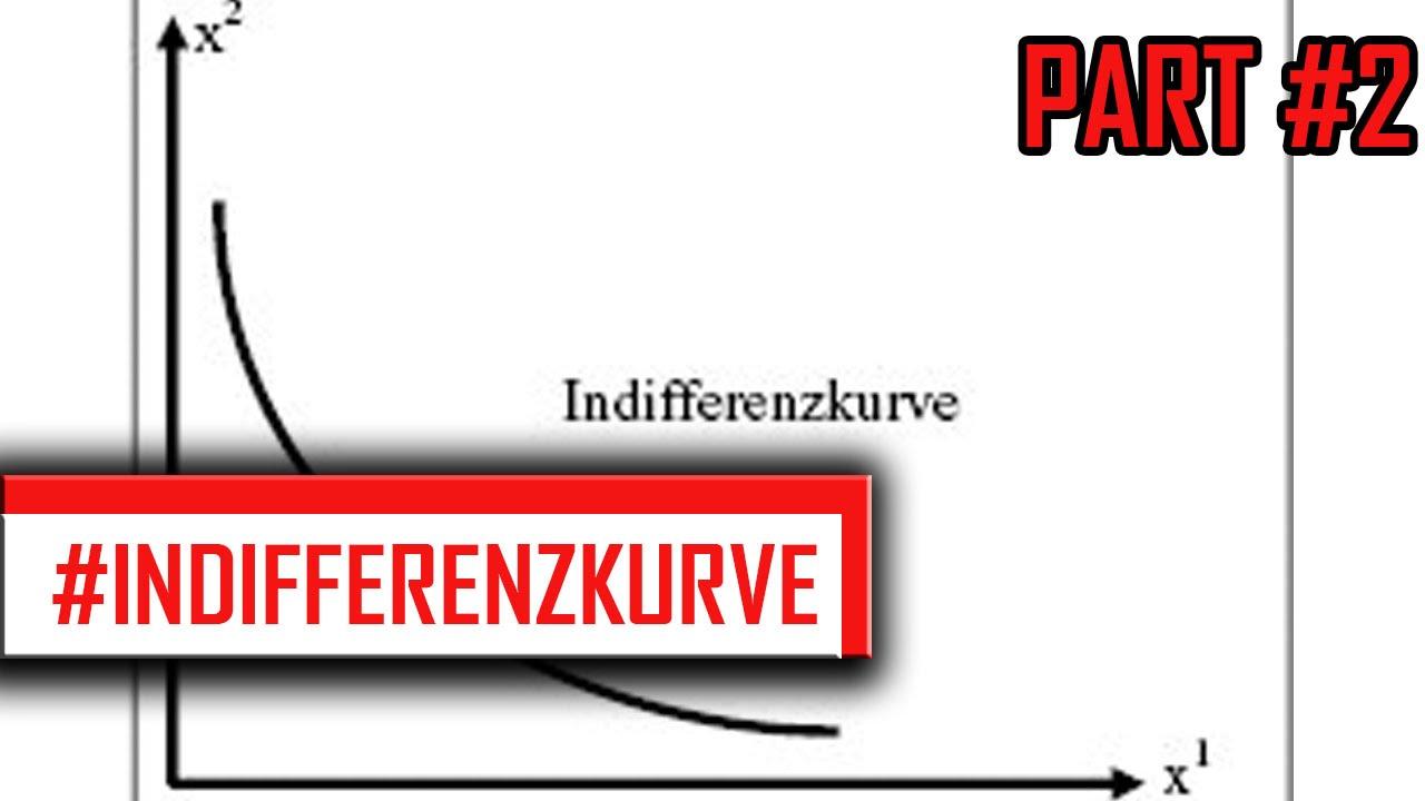 INDIFFERENZKURVEN erklärt - VWL [Indifferenzkurven und Nutzenfunktionen]  Part #2