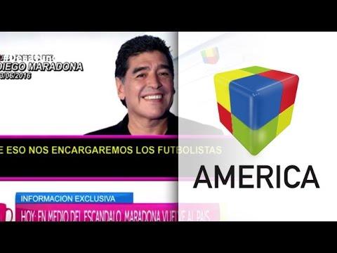 Maradona: Que Macri se ocupe de darle de comer a la gente y no del fútbol