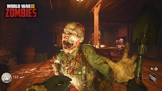 WW2 ZOMBIES - THE HARDEST CHARACTER UNLOCK CHALLENGE EVER! (Call of Duty WW2 Zombies)