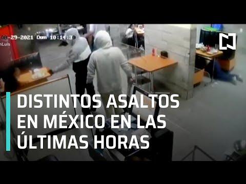 Asaltos en México