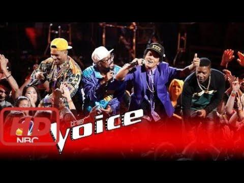 The voice 2017 america  Bruno Mars: