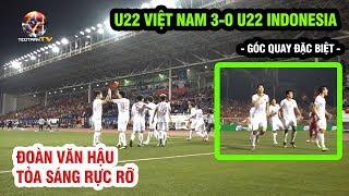 Hình ảnh có 1 0 2 màn giành vàng SEA Games của U22 Việt Nam: Siêu đỉnh cao Đoàn Văn Hậu