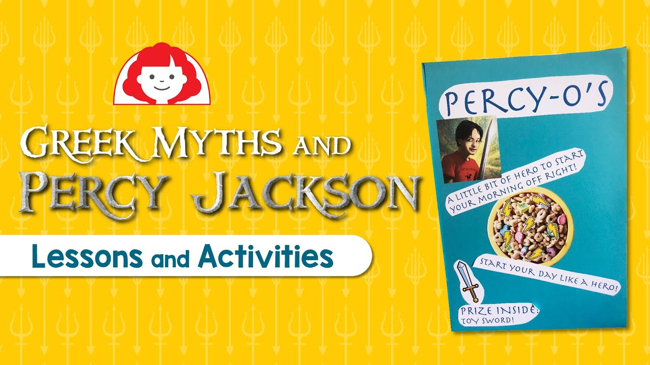 Greek Myths and Percy Jackson Lessons and Activities - The Joy of Teaching [ 720 x 1280 Pixel ]