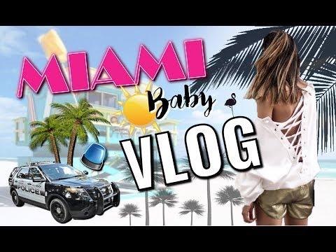 Vlog MIAMI - Notre Uber se fait arrêter par la police!!