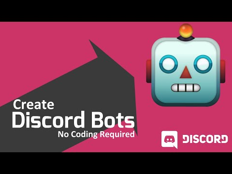 How to make a free discord bot in 5 minutes without coding