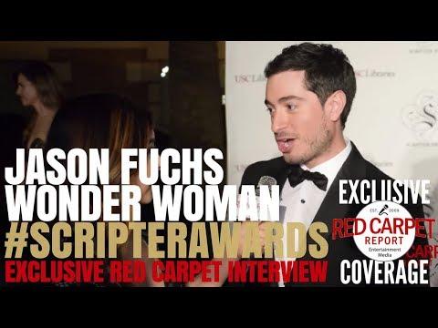 Jason Fuchs, Screenwriter #WonderWoman interviewed at USC Libraries 30th Annual Scripter Awards