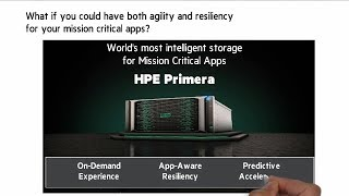 Introducing HPE Primera - Intelligent storage for mission-critical apps | Chalk Talk