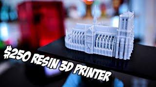 Unboxing & Testing $250 Elegoo Mars Resin 3D Printer