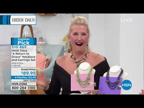 HSN   Heidi Daus Jewelry Designs. https://pixlypro.com/c7tvteO