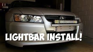 How To Install A Lightbar | Sponsored by Vicoffroad.com.au