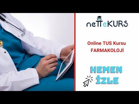 TUS Farmakoloji - Otonom Sinir Sistemi / nettekurs.com