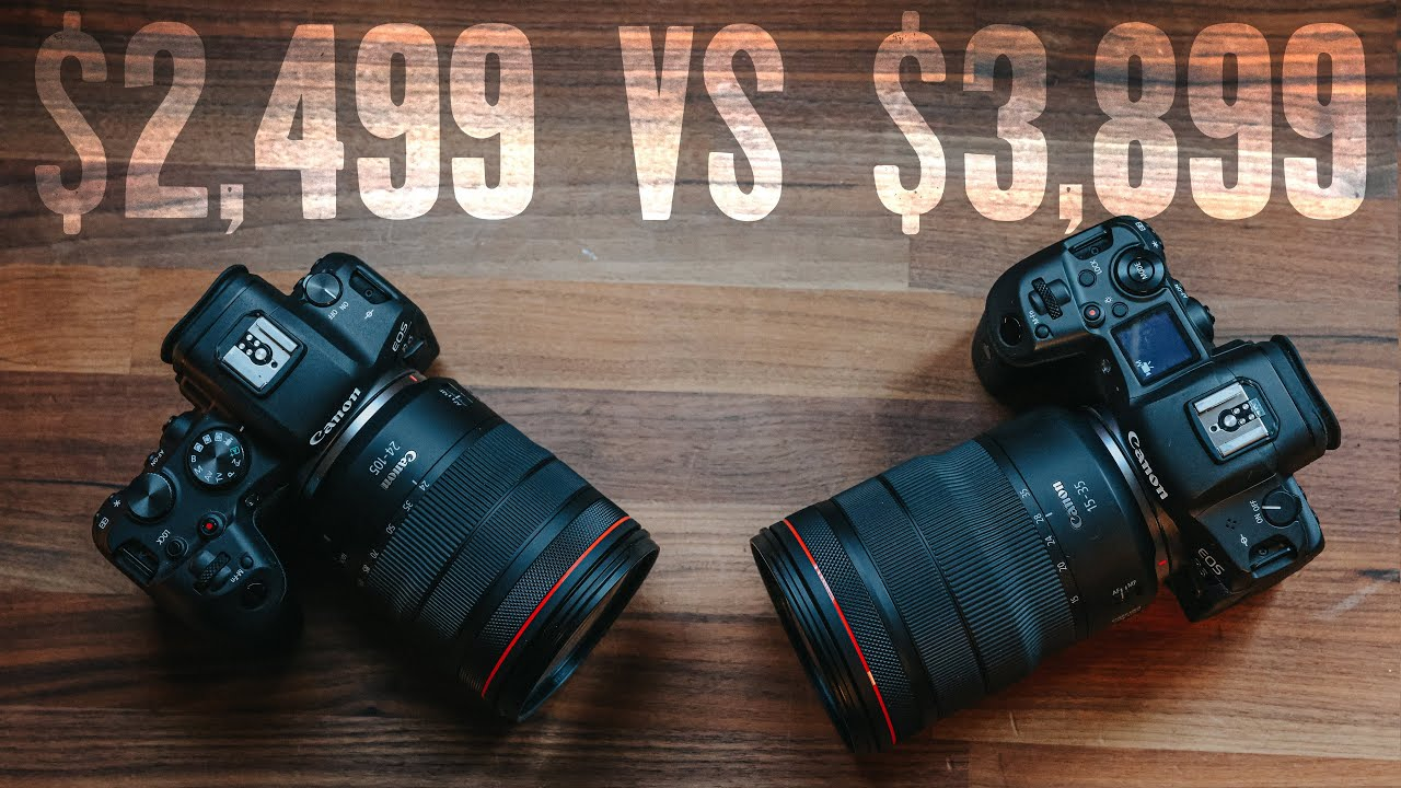 Canon EOS R5 vs EOS R6 Which is REALLY BETTER?