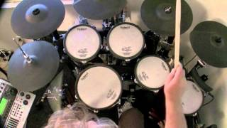 You Give Love A Bad Name - Bon Jovi (Drum Cover) drumless track used