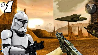 Star Wars Battlefront 2 (2005) Campaign Part 1 (first time)