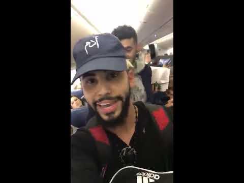 Adam saleh got kicked out speaking diffrent language in Delta Airplane