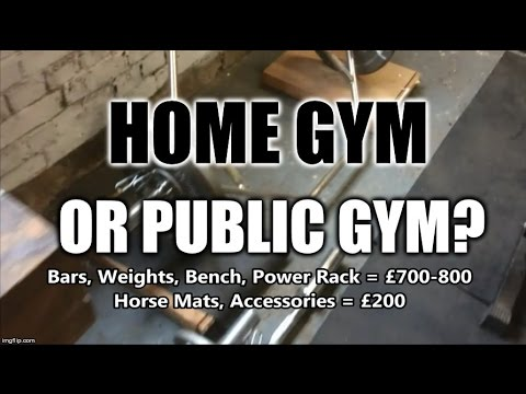 Gym membership or garage gym pros and cons youtube