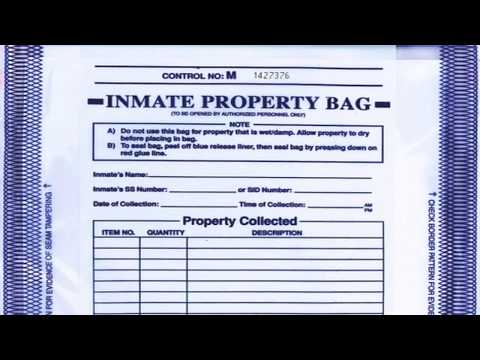 How do I retrieve property from a CCDC inmate in Las Vegas