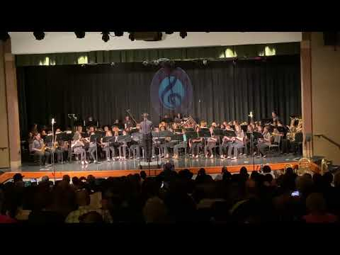 Waltz No. 2 Barber Middle School Wind Symphony 3/10/2020