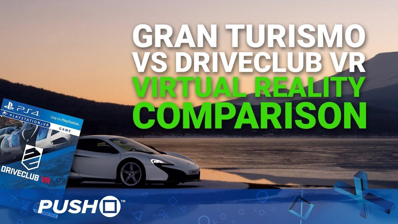 gran turismo sport playstation vr gameplay driveclub vr comparison psvr ps4 pro footage. Black Bedroom Furniture Sets. Home Design Ideas