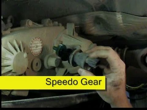 Speedometer Calibration, Jeep Wrangler TJ
