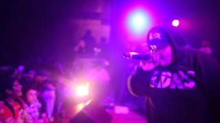 "Alex Wiley feat Chance The Rapper ""Spaceship II"" Live at Club Wiley Release Party"