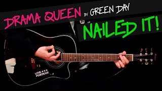 Drama Queen - Green Day guitar cover by GV +chords