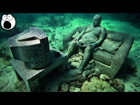 10 Most Amazing Submerged Oddities