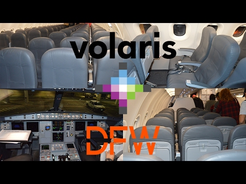 TRIP REPORT: Volaris | Dallas/Fort Worth (DFW) to Guadalajara (GDL) | A320 | Y4 893 | Economy
