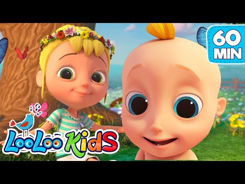 Mary Mary Quite Contrary - Best Nursery Rhymes and Kids Songs | LooLoo Kids