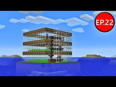 TAEEXZENFIRE Minecraft (1.8.8) #22 - ฟาร์มขนมปังอัตโนมัติ Automatic Bread Farm